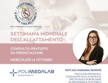 settimana mondiale allattamento